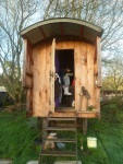 Shepherd Hut in the Kitchen Garden